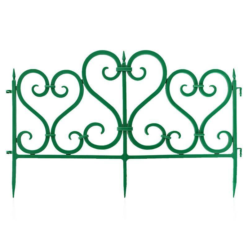 Декоративный забор узор