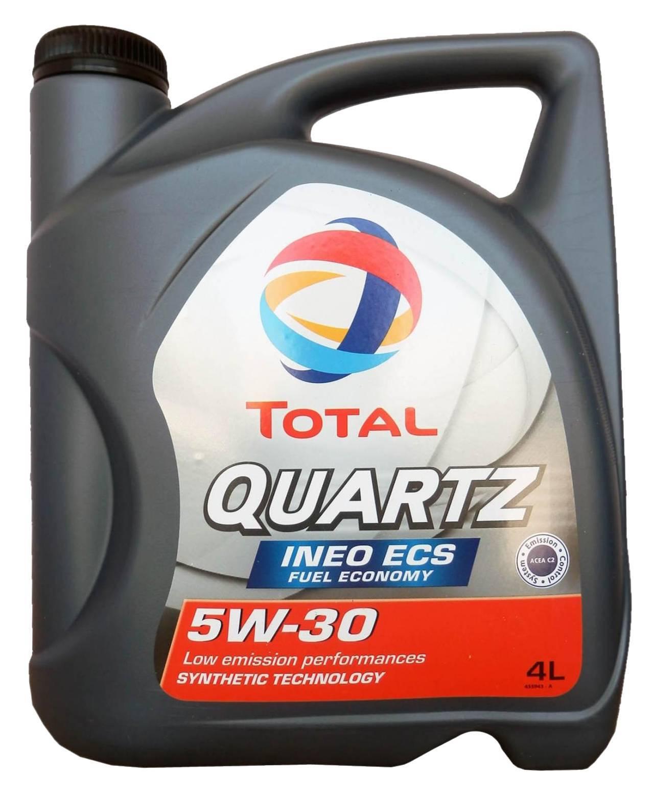 Купить масло total quartz ineo ecs 5w30 в краснодаре