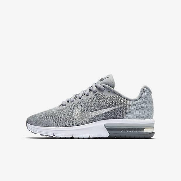 4285176b Беговые кроссовки для школьников Nike Air Max Sequent 2 (Серый ...
