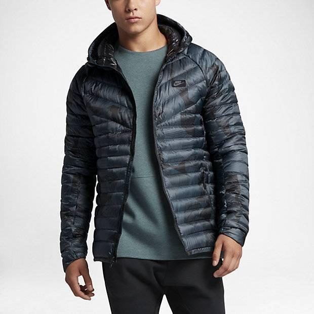 3db7e41c Мужская куртка с пуховым наполнителем Nike Sportswear (Серый ...