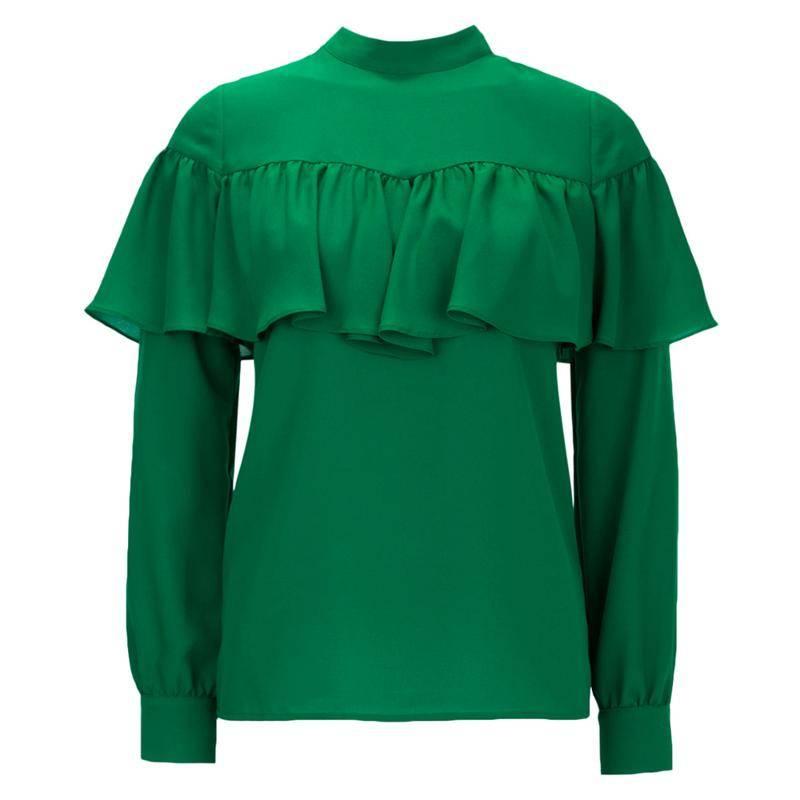 Блузка зеленого цвета в Воронеже