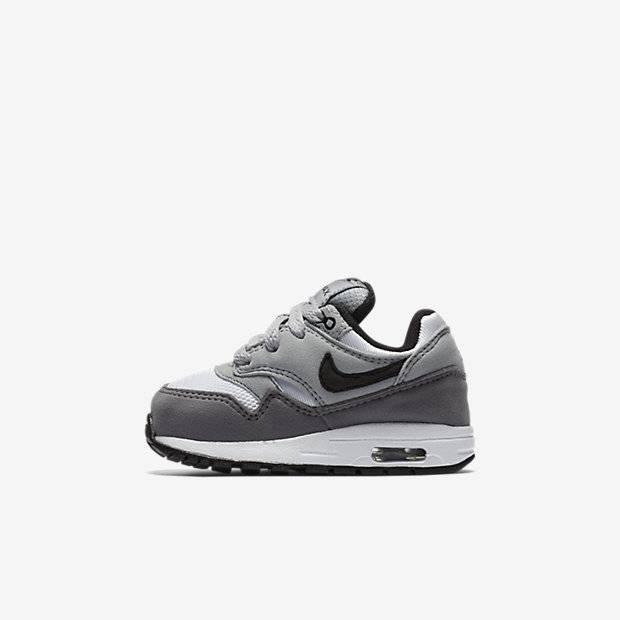 9d2874c0 Кроссовки для малышей Nike Air Max 1 (Серый) (807604-108) детям ...