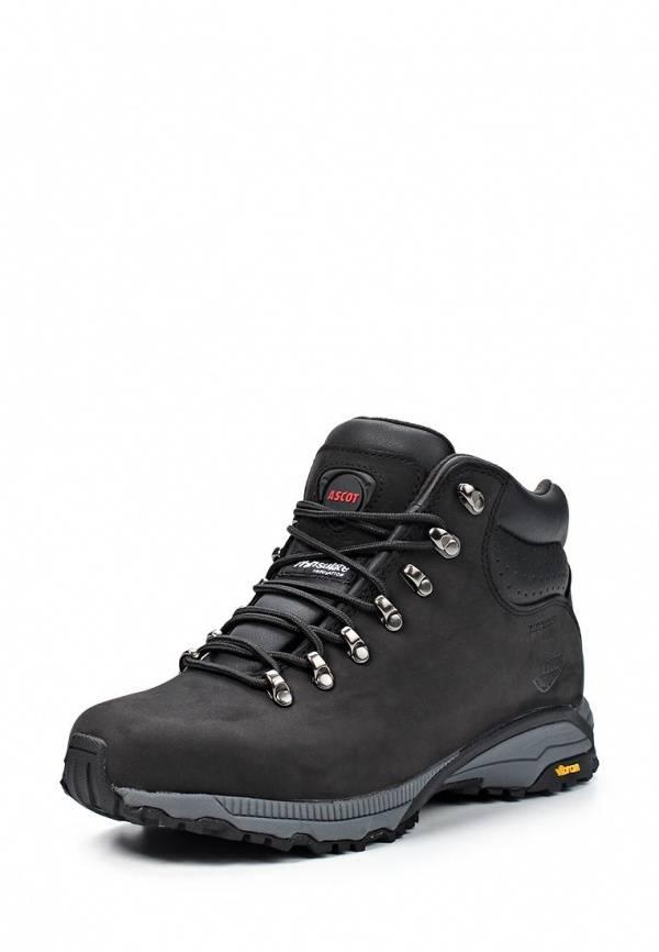 27286040f Ботинки трекинговые Ascot (черный) (T877 KENIA) купить от 6258 руб в ...